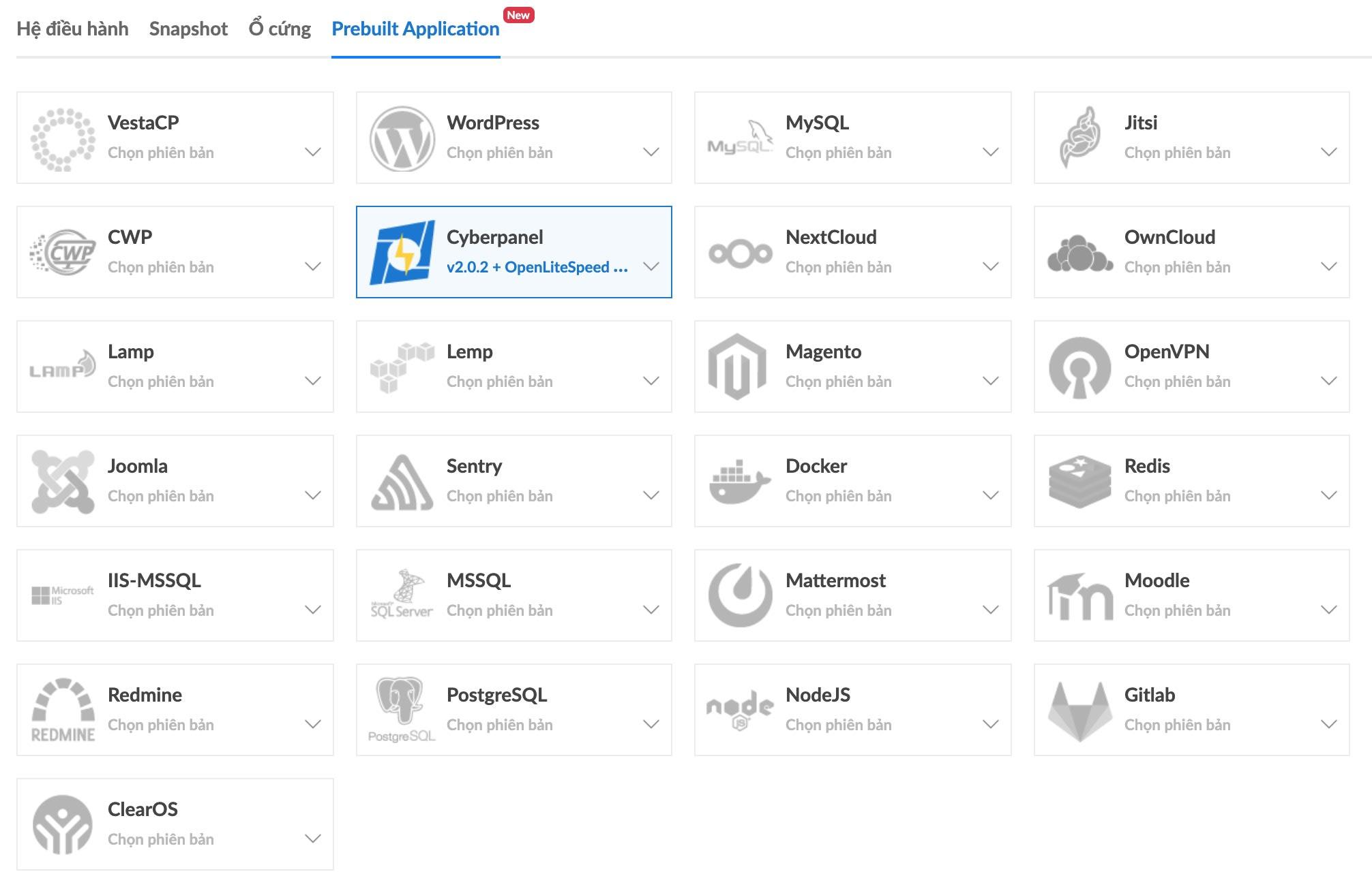 bizfly prebuilt app new
